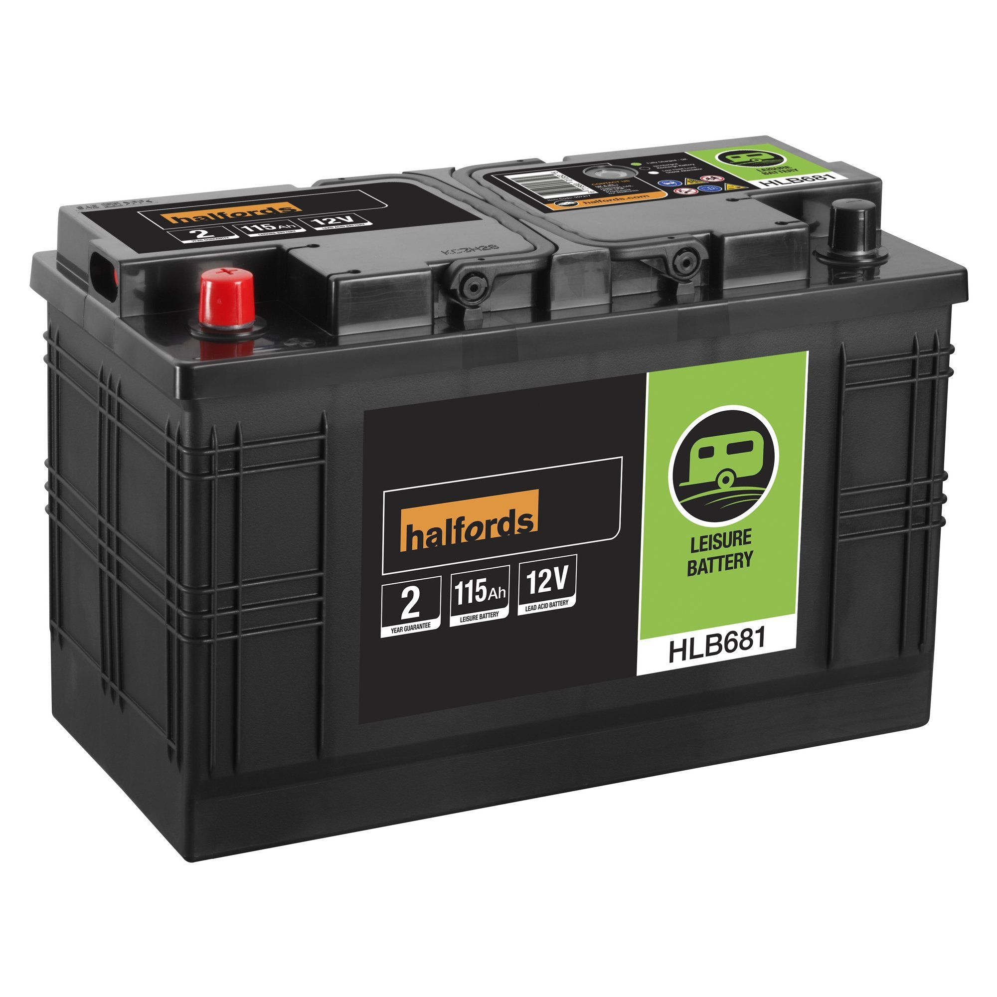 Halfords Halfords Leisure Battery 115 Ah Work Pinterest - Relay Switch Halfords