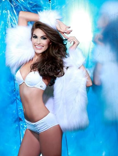 Radiante Gabriela Isler, Miss Universo 2013