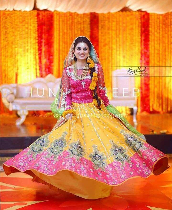 Yellow mayou gota dress