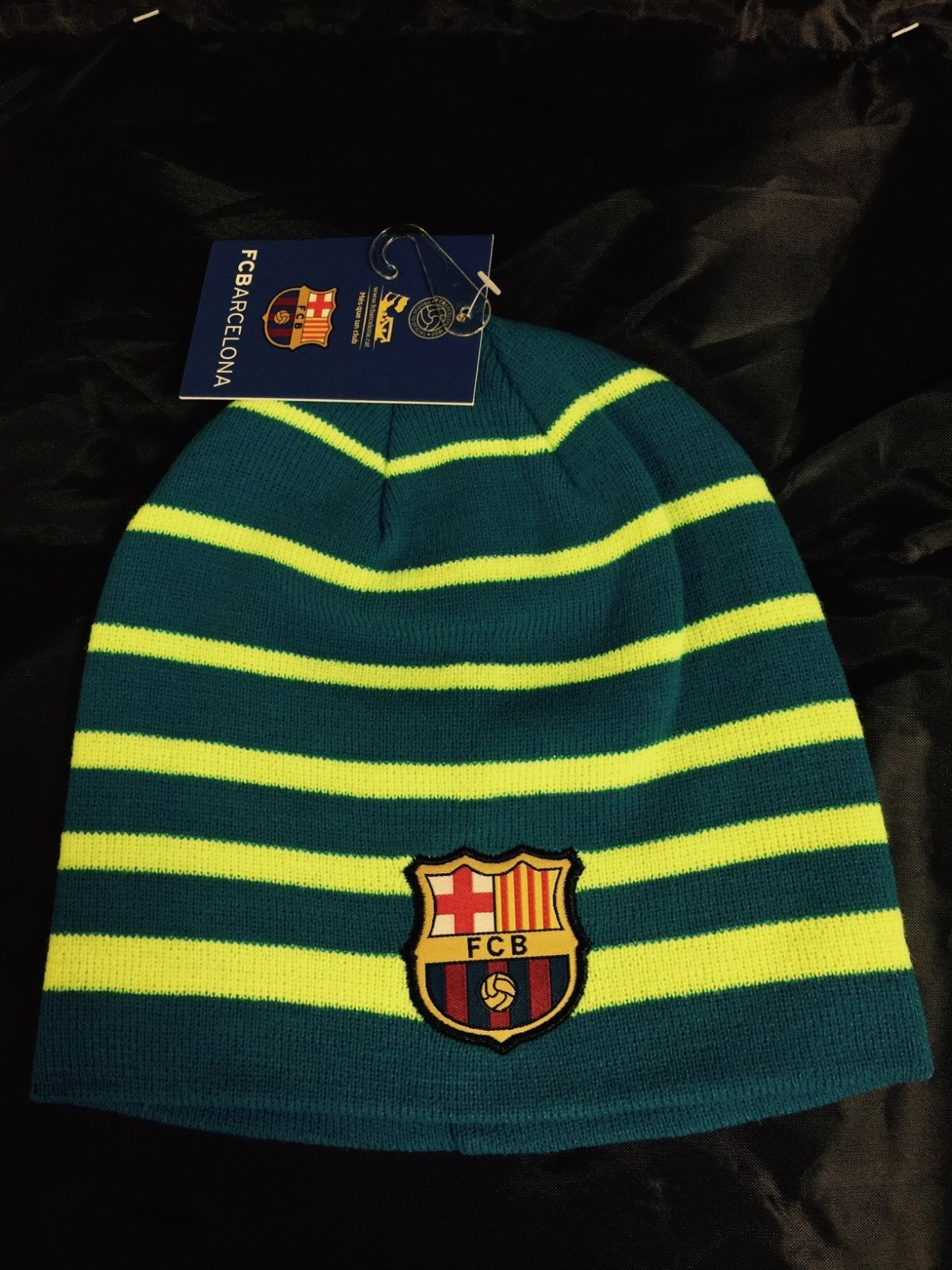 0747eb09889 Fc Barcelona Winter Hat Beanie Official Branded