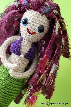 laughing purple goldfish designs | Crochet and ...