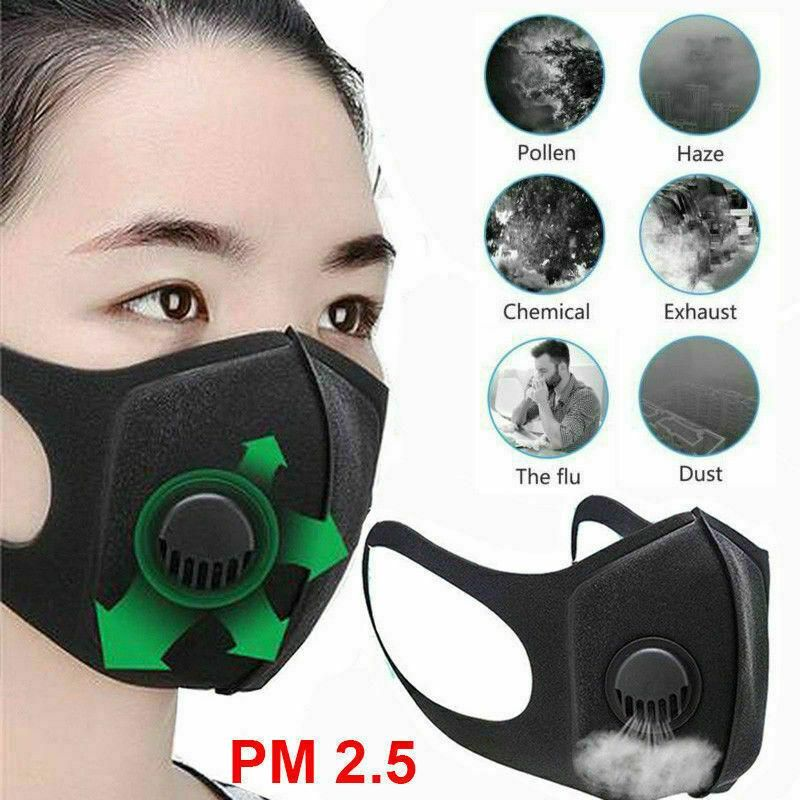 Anti Pollution Mask N95 Respirator In 2020 Purifying Face Mask Anti Pollution Mask Face Mask