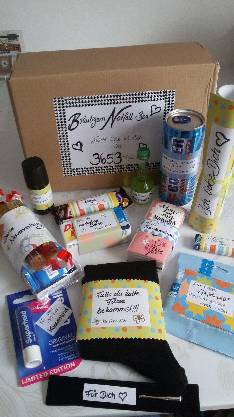 Braut Geschenk Box