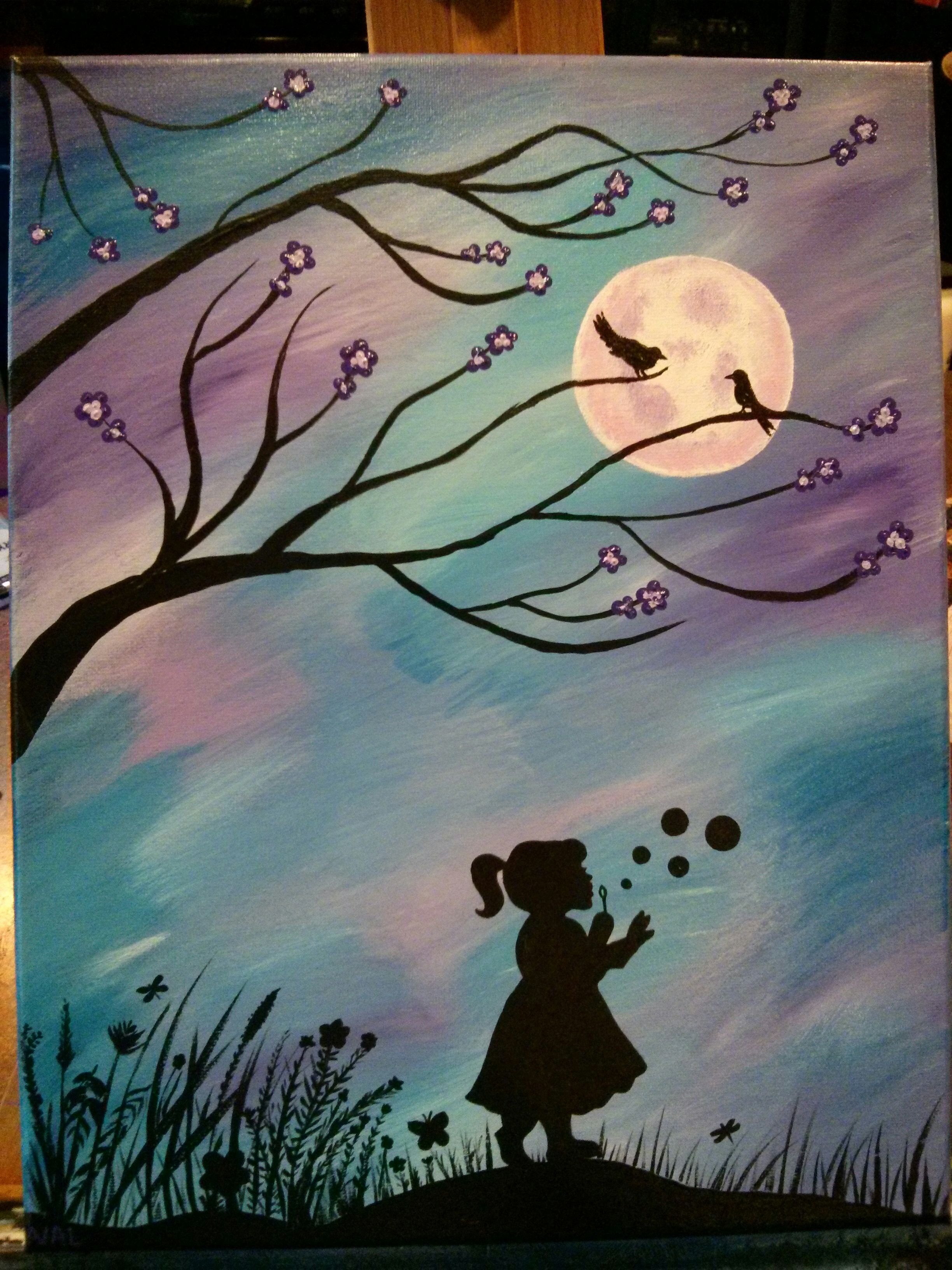 Loved Painting This With The Help Of Cinnamoncooney And