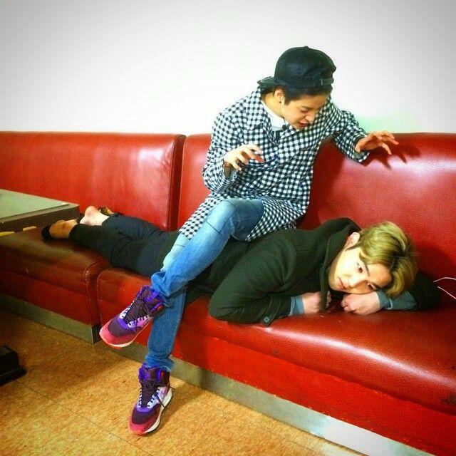 Amber with Kangin