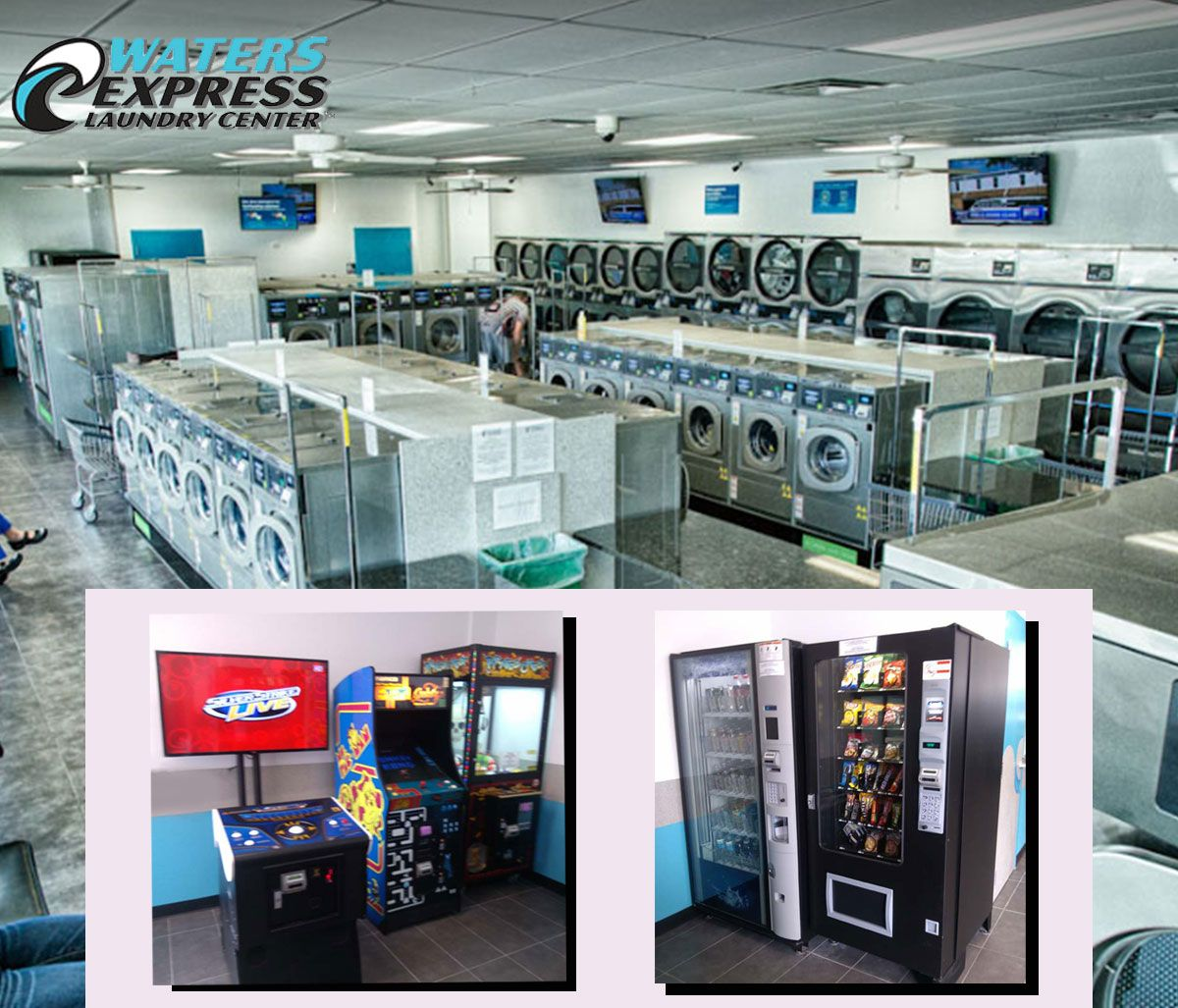 Waters Express Laundry Is Unique Because We Make The Dreaded Tasks
