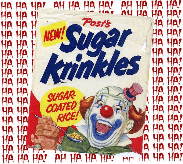 The 8 Most Baffling Food Mascots of All-Time.  Krinkles is so creepy.  Might want to do a lesson on ranking food mascots