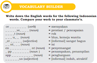 Kunci Jawaban Soal Bahasa Inggris Charper 2 Halaman 21 Kelas 10 Bahasa Inggris Bahasa Inggris