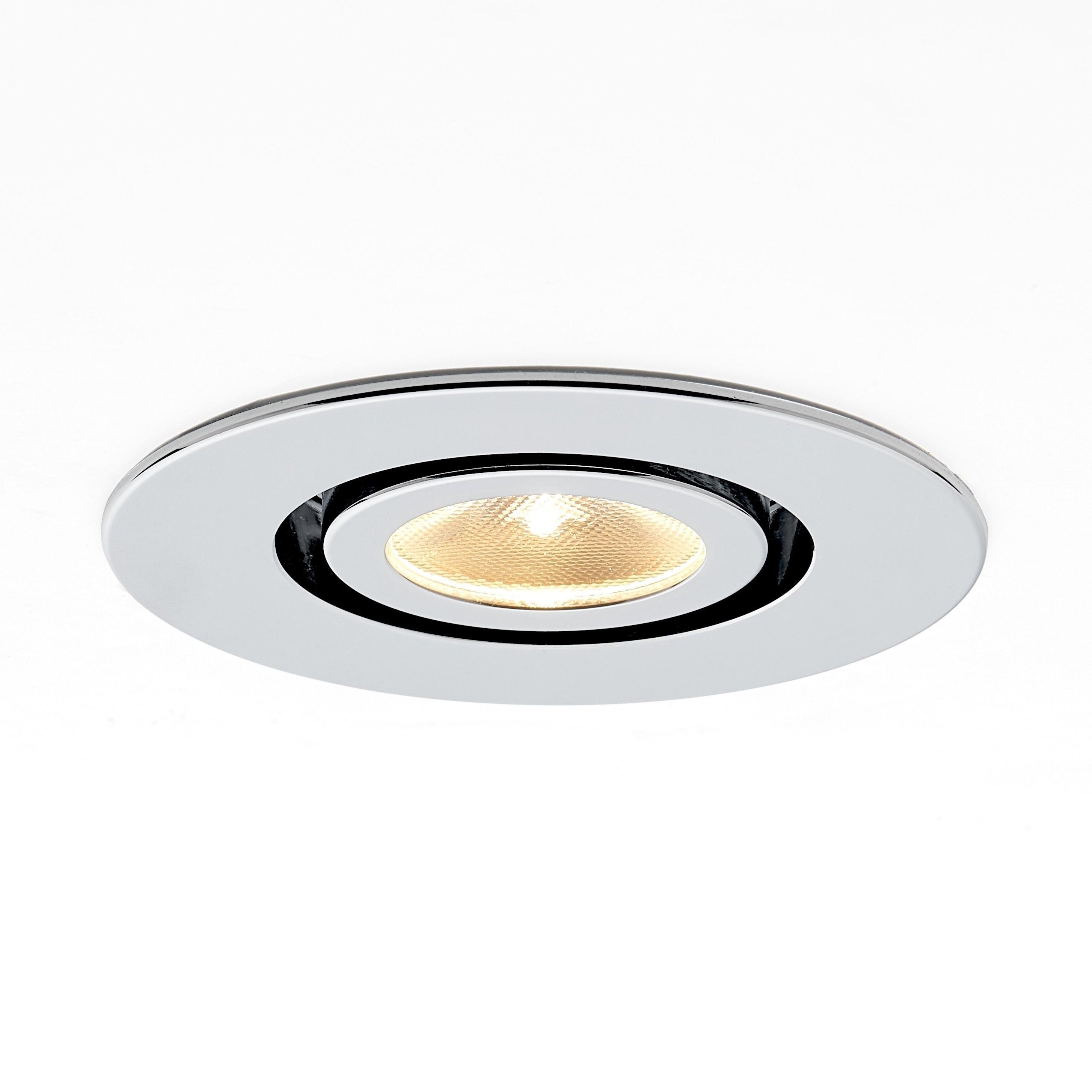 Molto Luce Kado Silver Metal Tiltable LED 30-degree 5000K Recessed ...