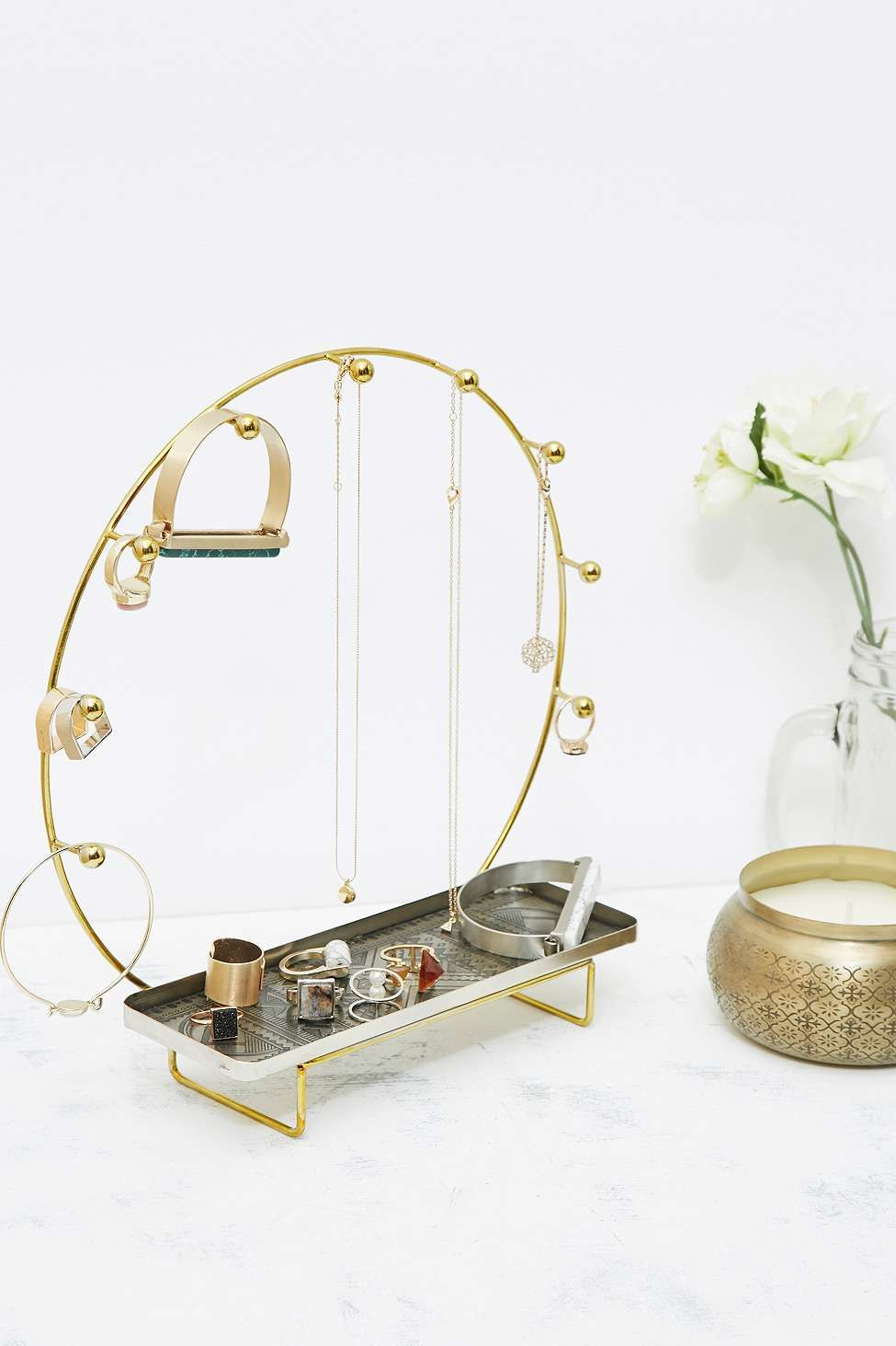 Halo Jewellery Stand by Urban Outfitters Jewelry Stand Pinterest