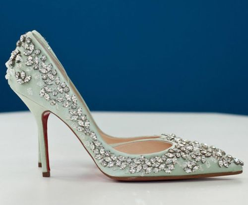 Christian Louboutin Crystal Heels pumps$263