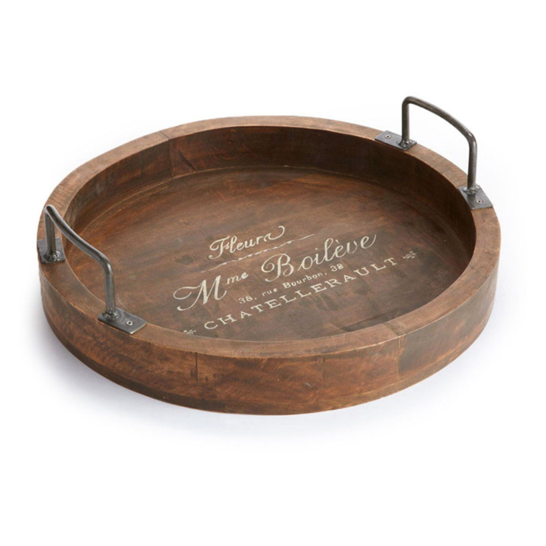 Napa Home and Garden Decorative Tray with Handles - 2683 | Pinterest ...