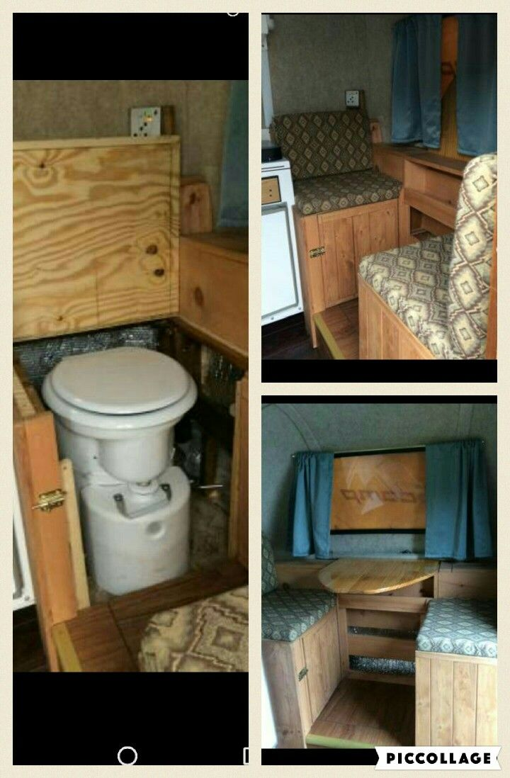 Custom scamp with airhead composting toilet http://seattle ...