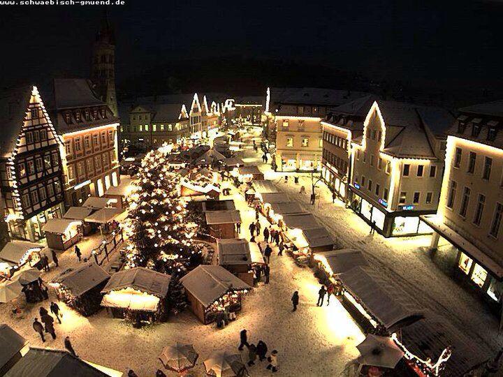 Schwäbisch Gmünd Weihnachtsmarkt.Weihnachtsmarkt In Schwäbisch Gmünd Travel Germany Germany