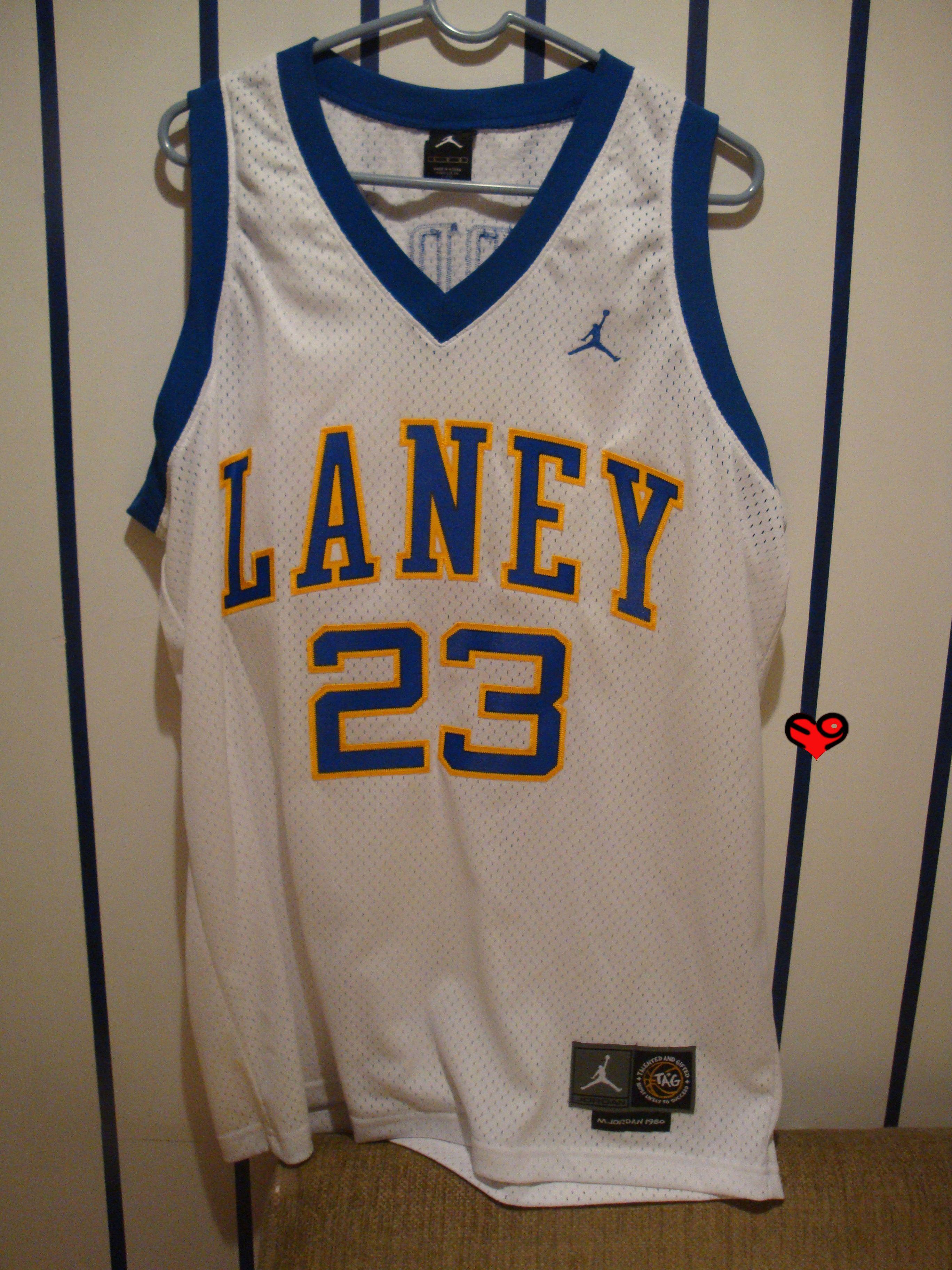 brand new 06743 566af Laney HS Michael Jordan #23 Jersey(Front) | Michael Jordan ...