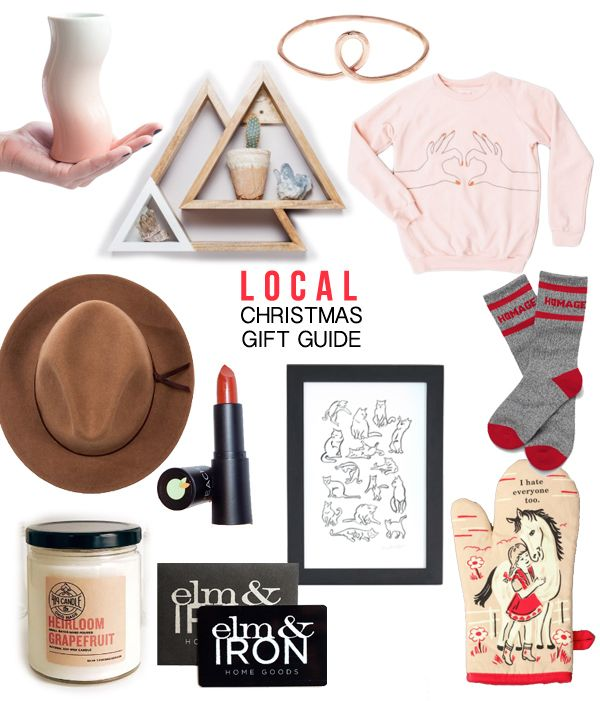 Columbus Local Gift Guide 2017 Local Gifts Local Christmas Gifts Gift Guide