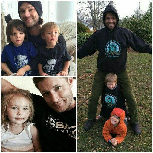 Supernatural babies ♡ Jared Padalecki with Thomas and ...