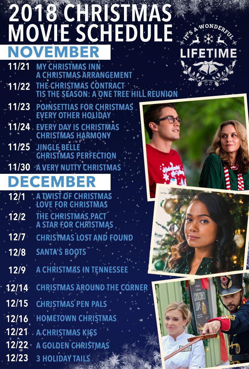It S A Wonderful Lifetime Movie Schedule Movie Schedule Christmas Movies Best Christmas Movies