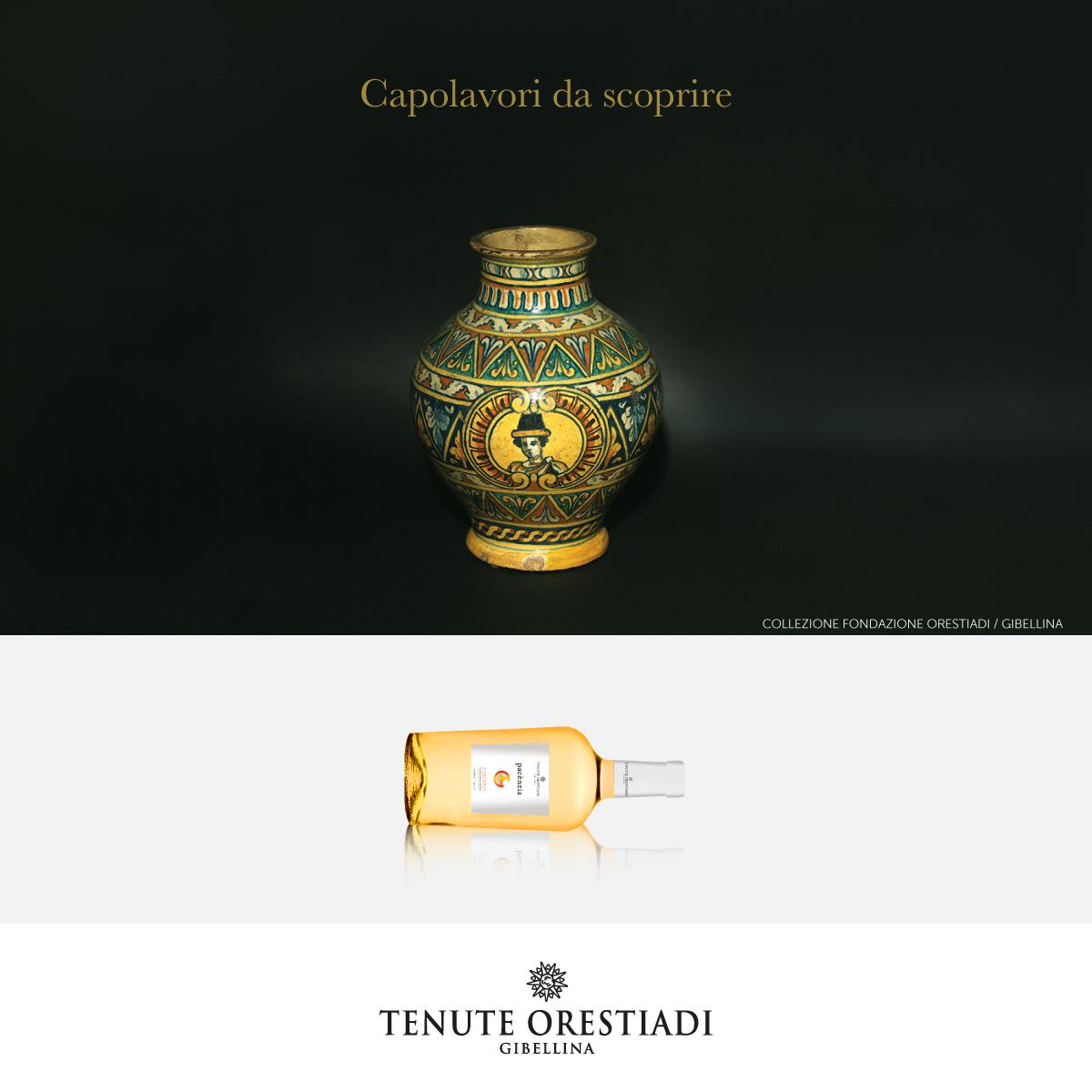 Il criterio espositivo delle ceramiche del Museo delle Trame Mediterranee accosta manufatti di diversa provenienza per cogliere l'evoluzione dei principali temi decorativi che hanno caratterizzato lo sviluppo dell'arte e dell'artigianato artistico mediterraneo.
