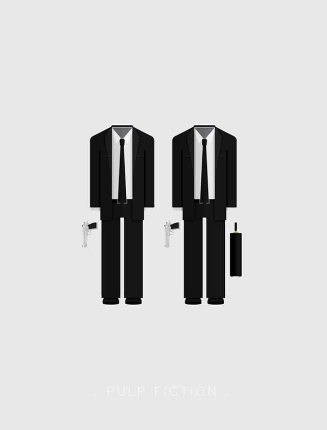 Pulp Fiction by Frederico Birchal