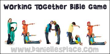 Working Together Bible Game for Sunday School and Children's Ministry from www.daniellesplace.com