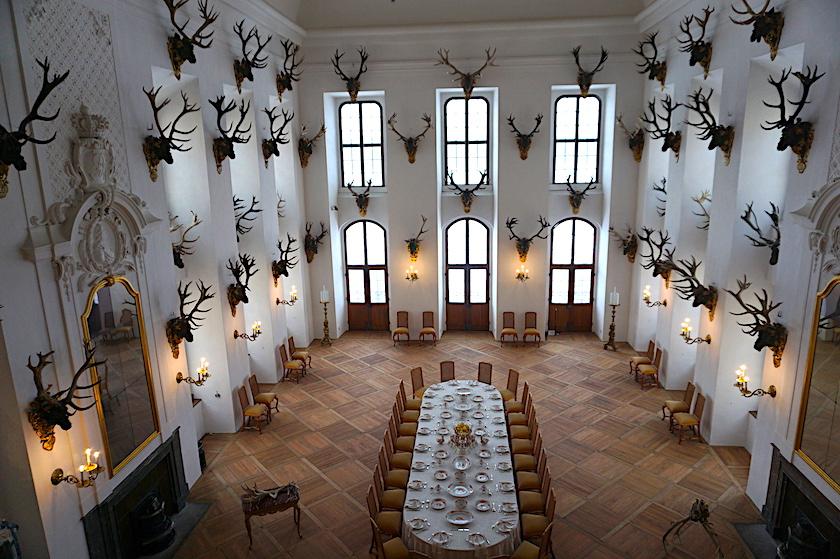 Schloss Moritzburg Ballsaal Drei Haselnusse Fur Aschenbrodel Viermal Fernweh Familien Reiseblog Schloss Moritzburg Aschenbrodel Moritzburg