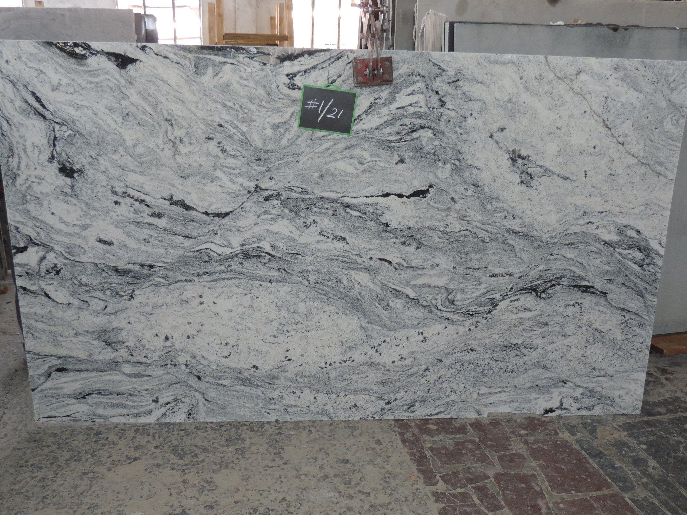 Viscon White Cosmos Granite Marble