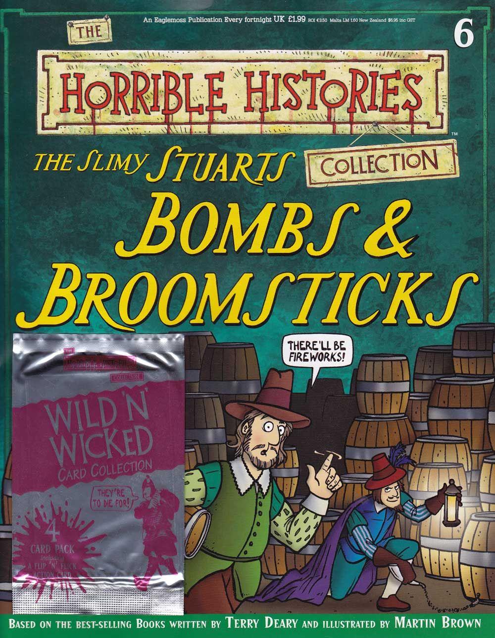 Slimy Stuarts From Horrible Histories Magazine Free Online Horrible Histories History Magazine History