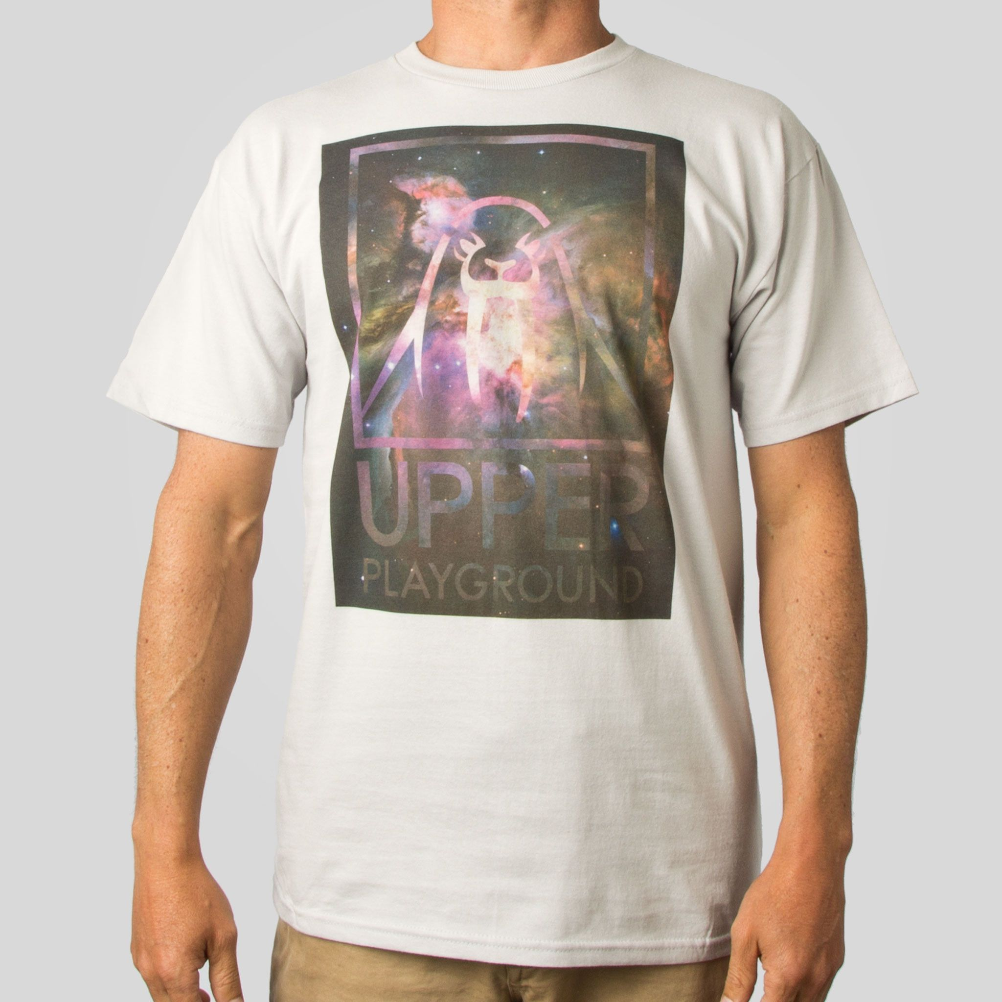 UP Nebula T-Shirt in Silver
