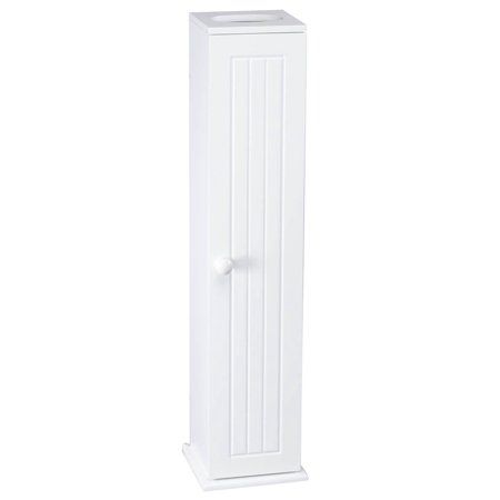 Toilet Tissue Tower By Oakridge Walmart Com In 2020 Toilet Paper Stand Storage Towers Small Bathroom Storage