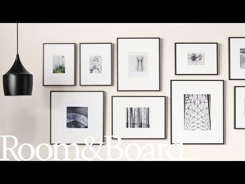 Learn How To Create A Photograph Display With Pictures Of Arrangements Tips And Ideas On How To Des Frames On Wall Gallery Wall Layout Modern Picture Frames