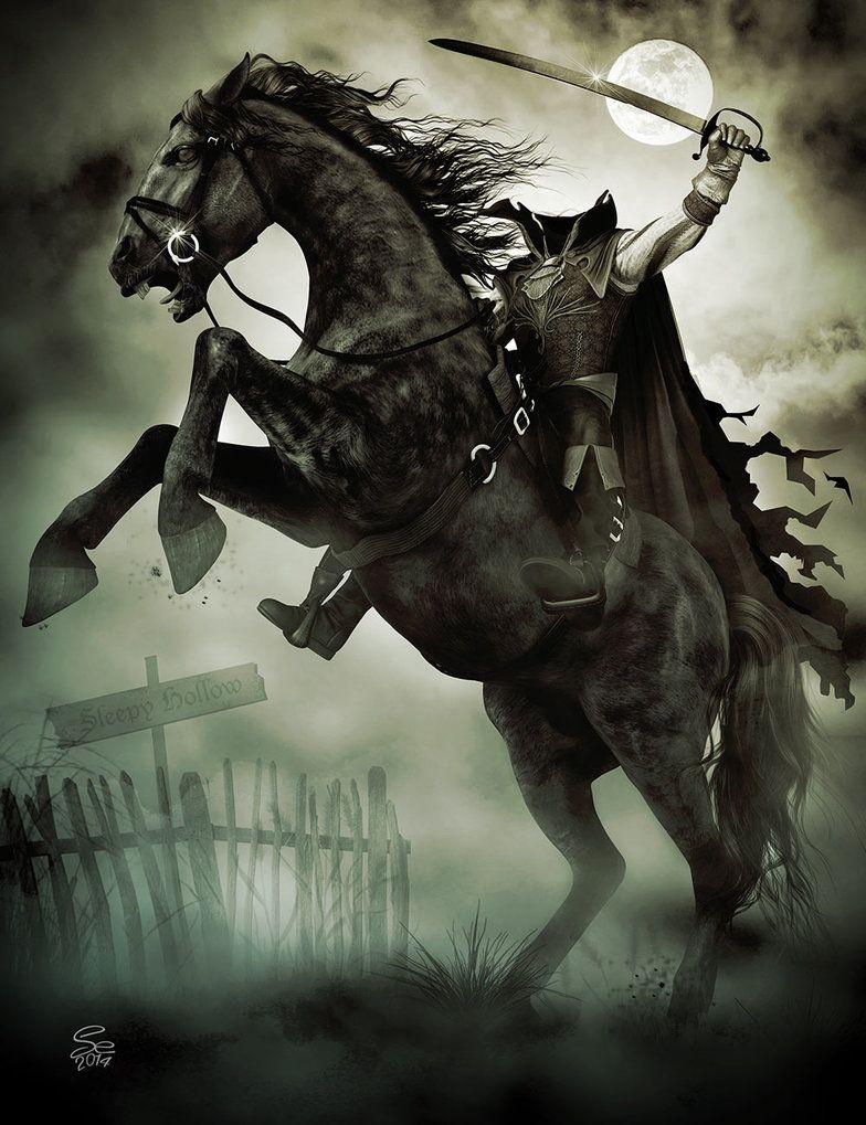 The headless horseman rides again by seanearley on deviantart fairy tales ancient modern - Pictures of the headless horseman ...