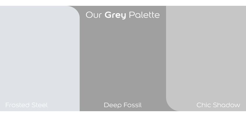 Dulux Shades Of Grey Letscolour Greyisacolour Grey Decor Dulux Frosted Steel Dulux