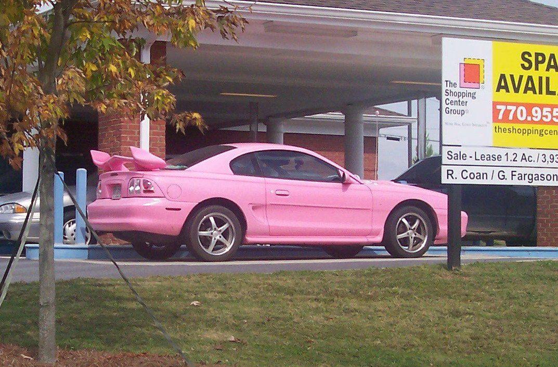 Image Result For Pink Sn95 Mustang Sn95 Mustang Mustang Pink