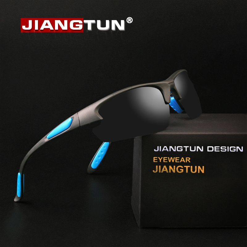 8407c843e0d JIANGTUN TR90 Fishing Sunglasses Polarized For Men Women Shadow Glasses for Driving  Men s Glasses Outdoor Sport Eyewear