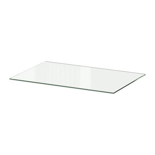 MALM Plateau en verre IKEA   80x48 cm en blanc 15€ | THE thing   L