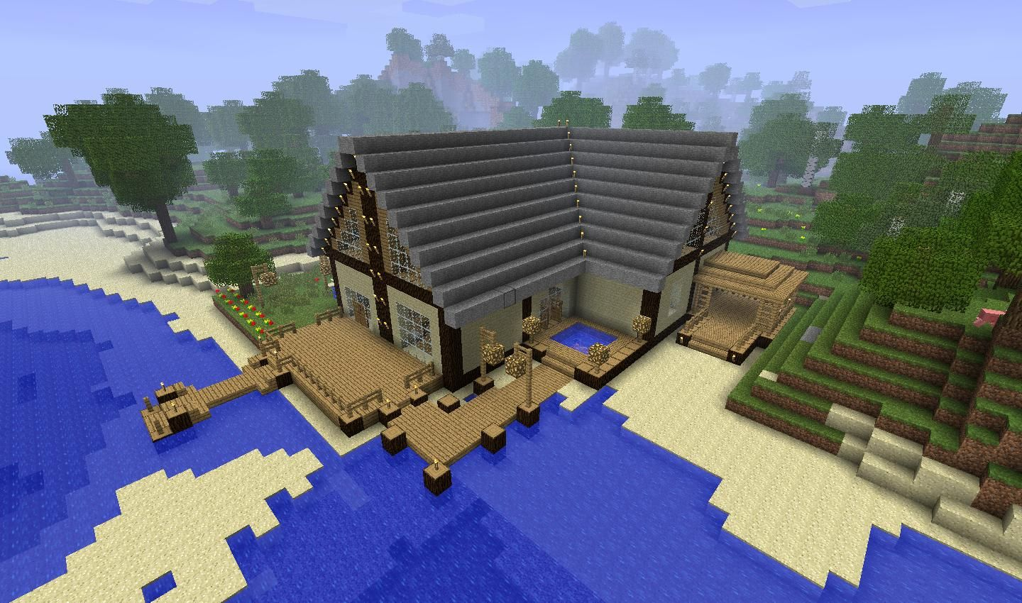 Epic Minecraft Home