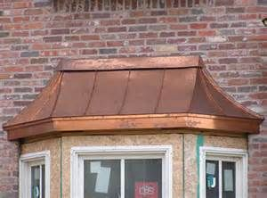 Bay Window Copper Roof Bay Window Treatments Bay