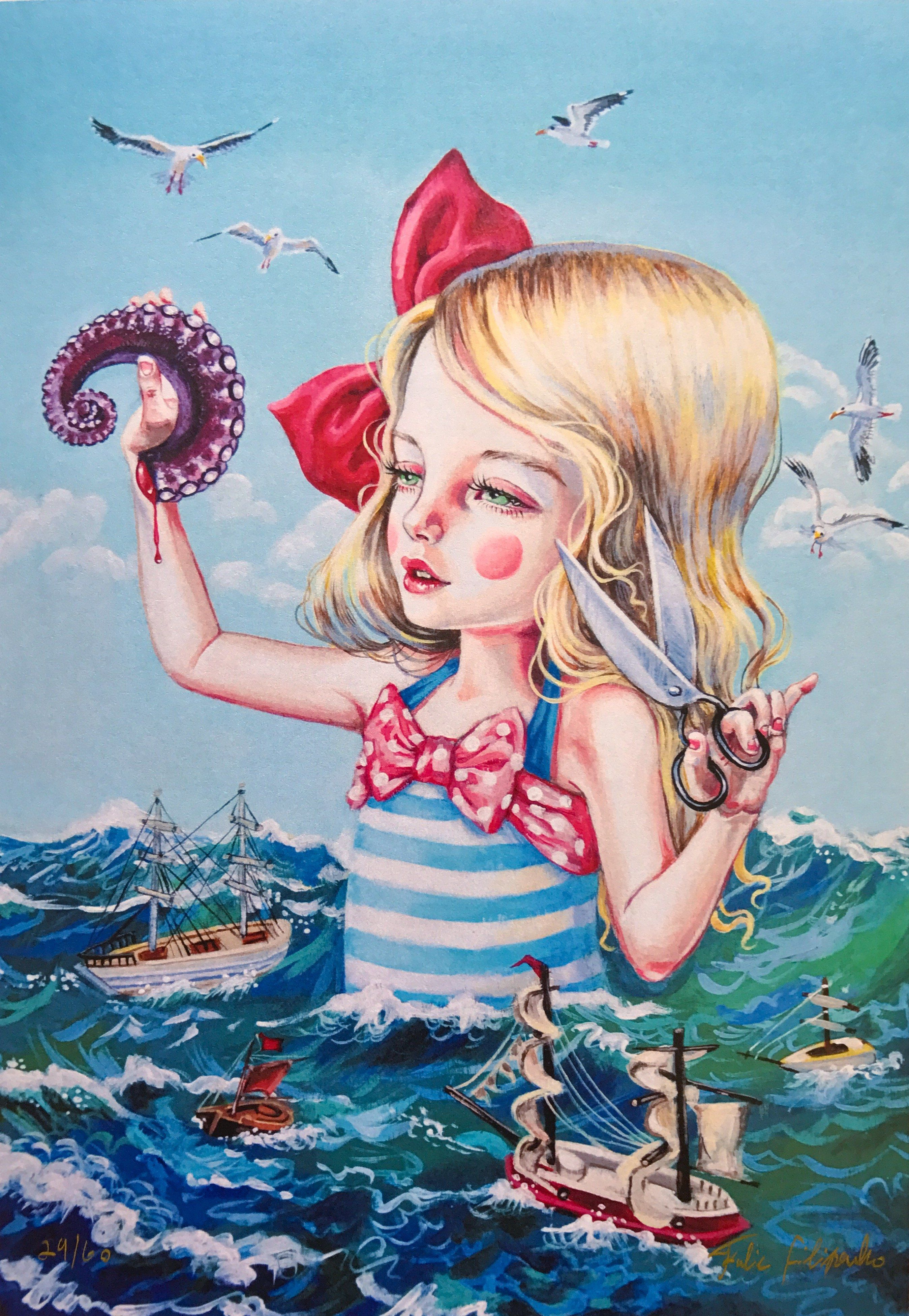 Julie filipenko with images art drawings surreal art