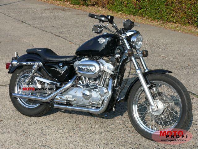 Harley Davidson 883 Sportster 2001 Stunning Bike