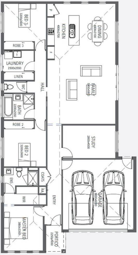 Todos Los Disenos Para Techos De Barriada Modernos Planos De Casas Planos De Casas Casa De 3 Dormitorios Planos Para Construir Casas