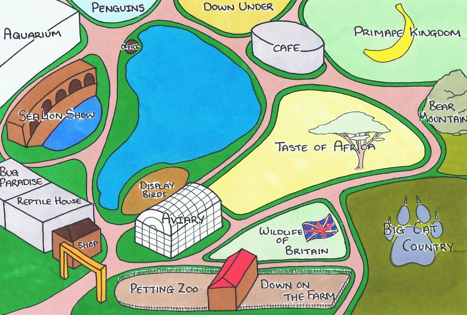 Zoo map Zoo map detroit zoo