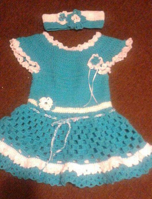Lourdes Cruz | 3 Bebé niñas tejidos de la web | Pinterest | Niños ...