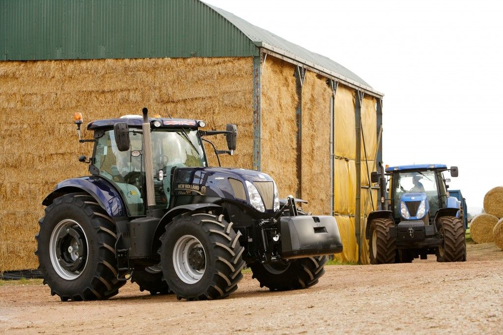 Golden Jubilee Versions New Holland T7 270 Auto Command And T6 160
