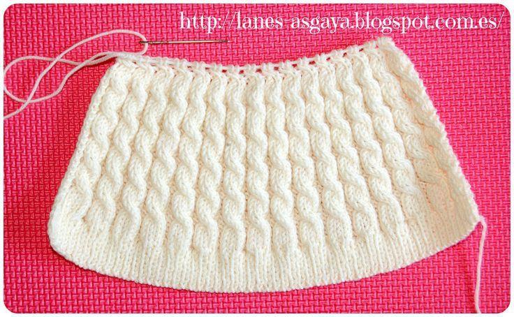 10 gorros tejidos a dos agujas para mujeres (10)   Gorros ...