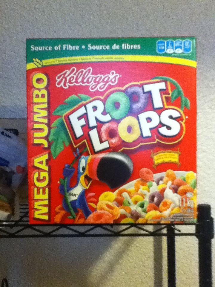 Froot Loops 2x550g $7.99