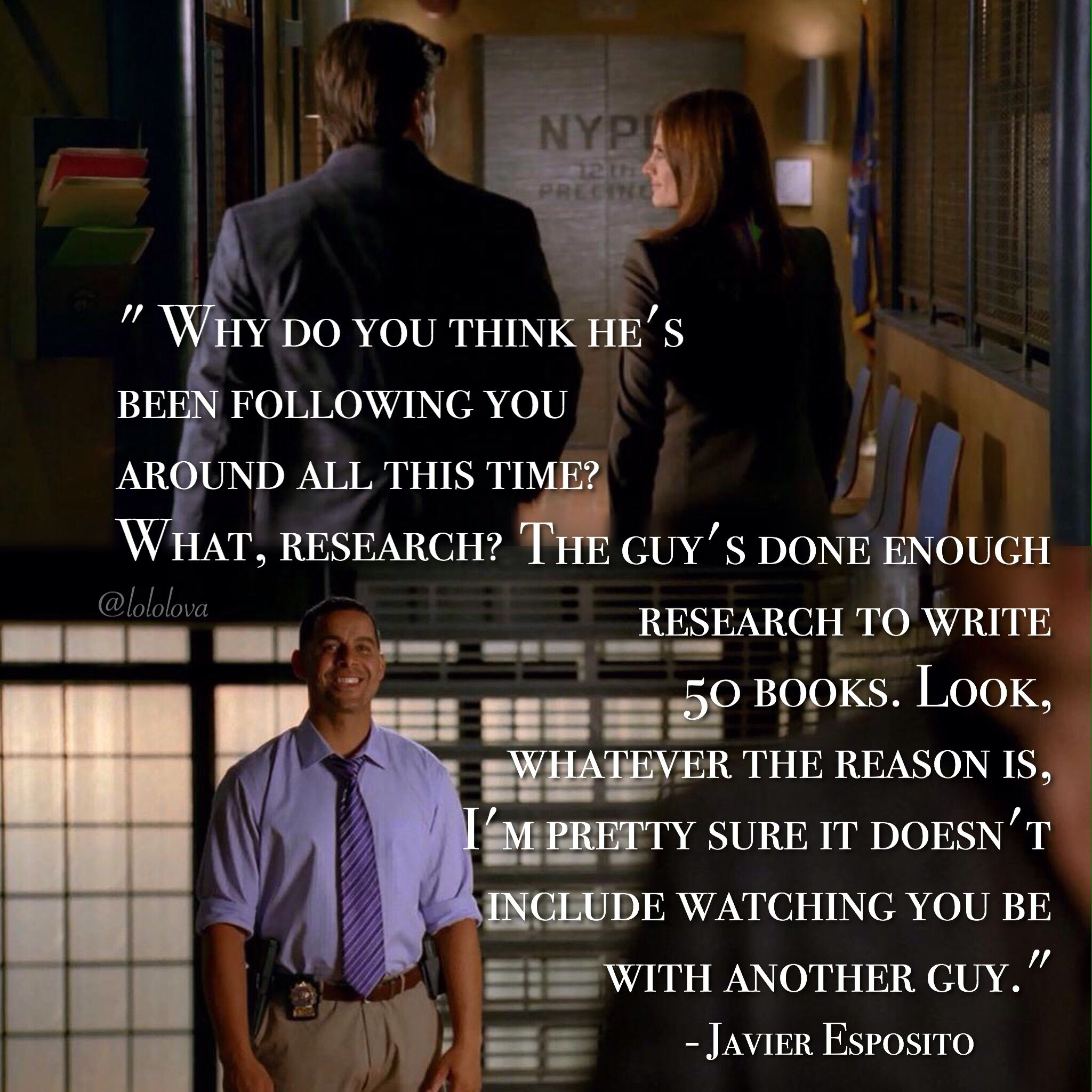 Quote 2x24 A Deadly Game} {Scene 3x05 Anatomy Of A Murder} | Castle ...