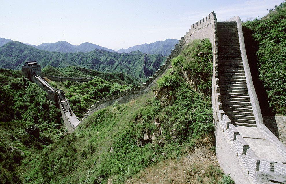 Las Maravillas Del Mundo Moderno En Espectaculares Fotografías La Gran Muralla China Maravillas Del Mundo Muralla China
