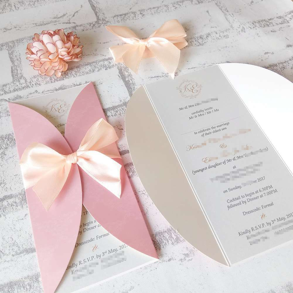 Elegant Handmade Wedding Card Designs (8 Example Pictures ...