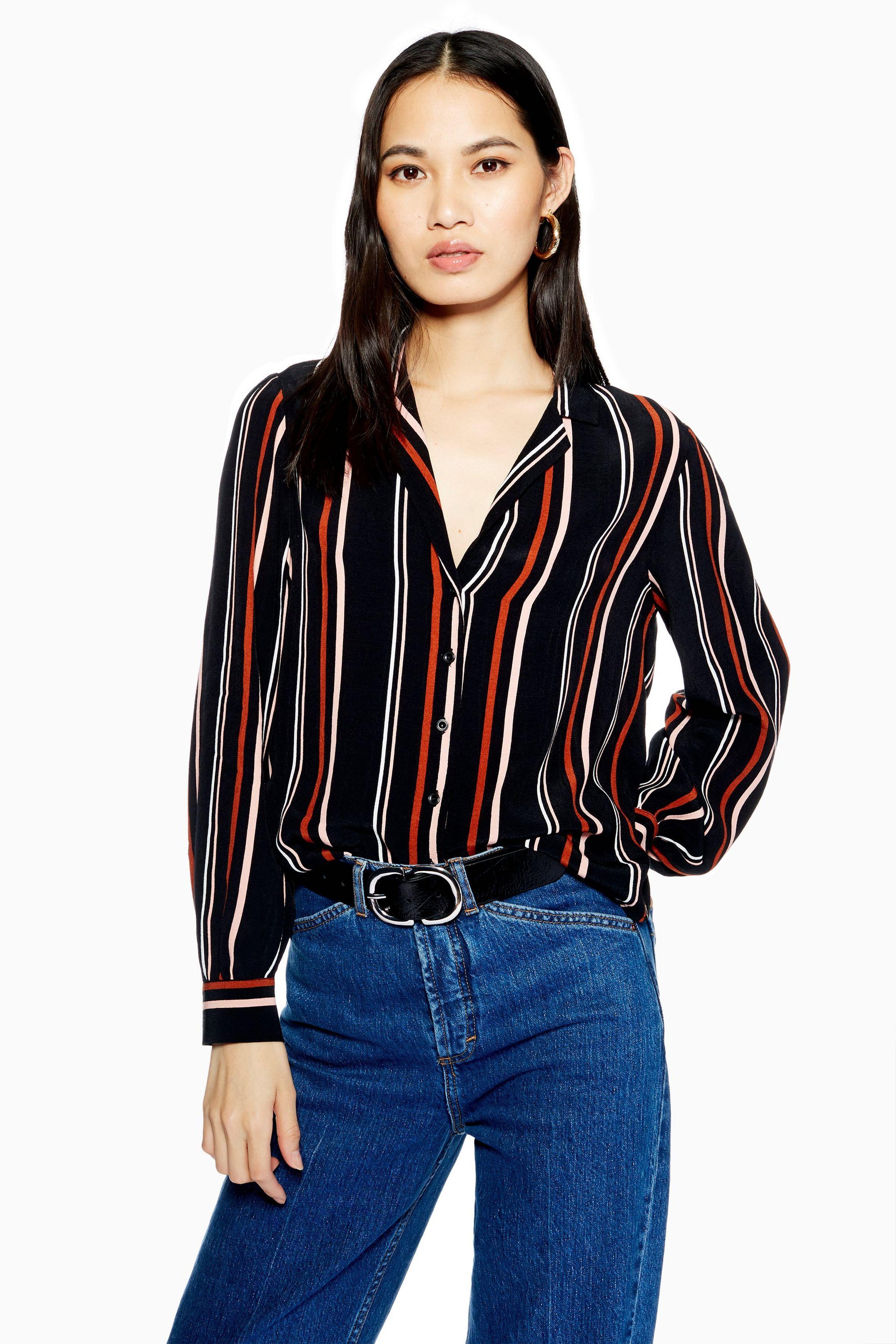 1f69c4e7fa Stripe Shirt in 2019 | Shirts | Topshop sale, Stripes fashion, Shirt ...